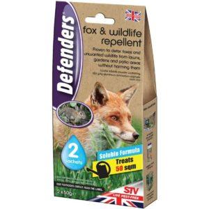 Defenders Fox & Wildlife Repellent 2x50g Sachets