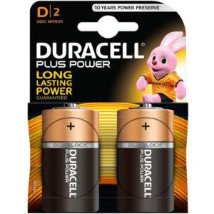 Duracell Plus Power D Size